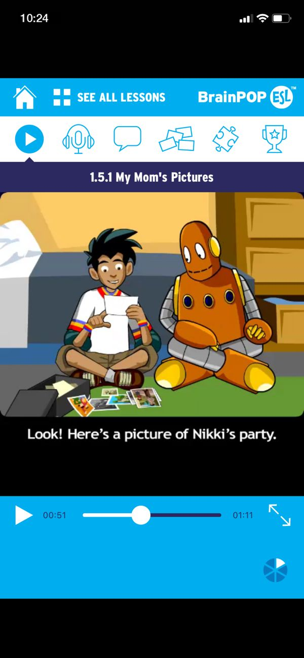 BrainPOP ELL on the App Store in 2020 (With images) Mom