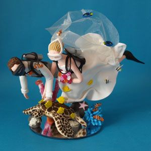 Try Sarah Tops Cake Toppers Scubadiving Caketopper