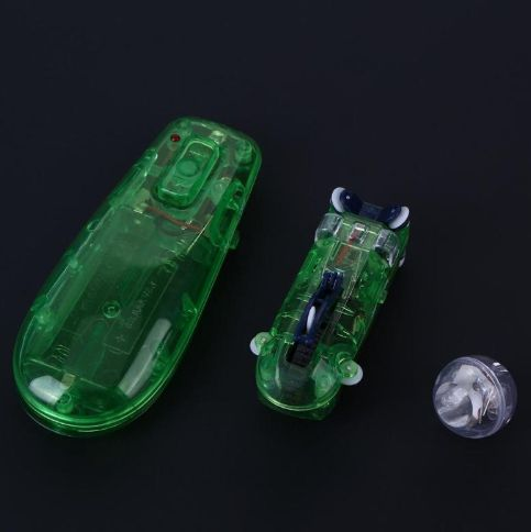 RC Car Toy Remote Control Speed Pipes Racing Track Car Toys Flash Light DIY
