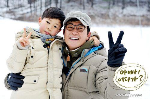 Dad, Where Are You Going ♡ Kim Sung Ju and Kim Min Kook