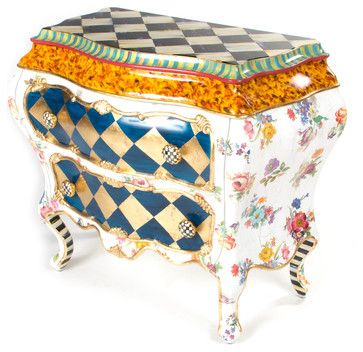 Pierrot Bombay | MacKenzie-Childs - eclectic - Dressers Chests And Bedroom Armoires - Other Metro - MacKenzie-Childs