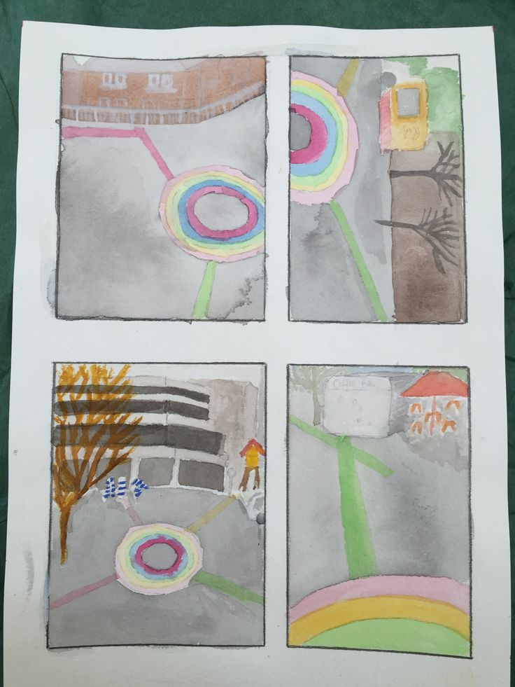 Site project - water colour