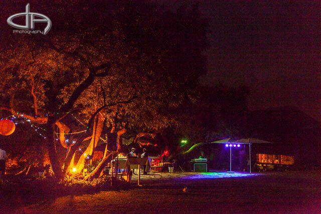 The Venue at night | Mokoya Lodge