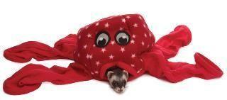 Marshall Pet Fleece Ferret Octo Play Toy