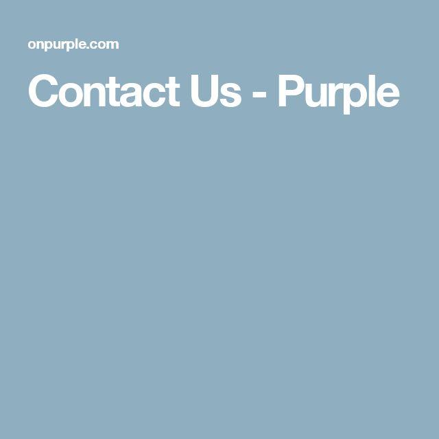 Contact Us - Purple