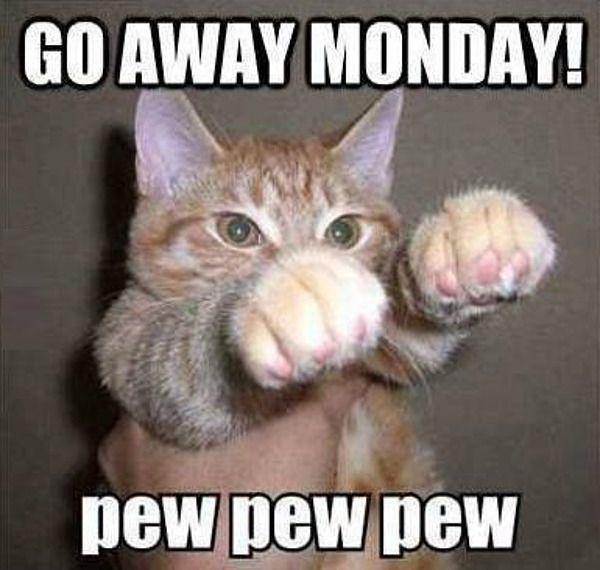 Go away #Monday ! pew pew pew