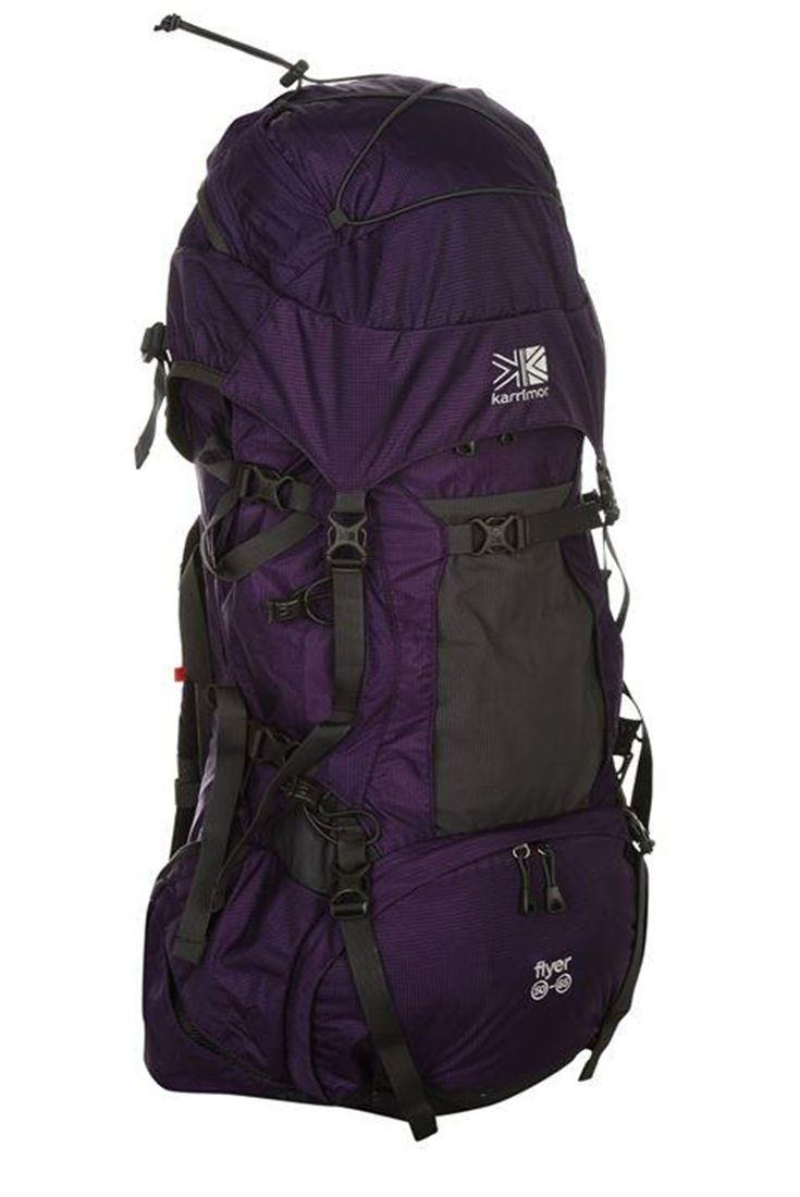 Туристический рюкзак Karrimor Flyer 50-65L  подробно здесь: http://www.goodbags.com.ua/rucksacks/outdoor-backpacks/karrimor-flyer.html