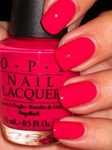 OPI You're a Pisa Work....Red always makes my fat fingers look smaller LOL I always have red!!!!