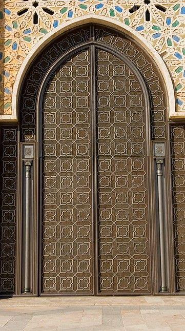 House door Arabian style | ⋘ ARABIAN STYLE ⋙ | Pinterest
