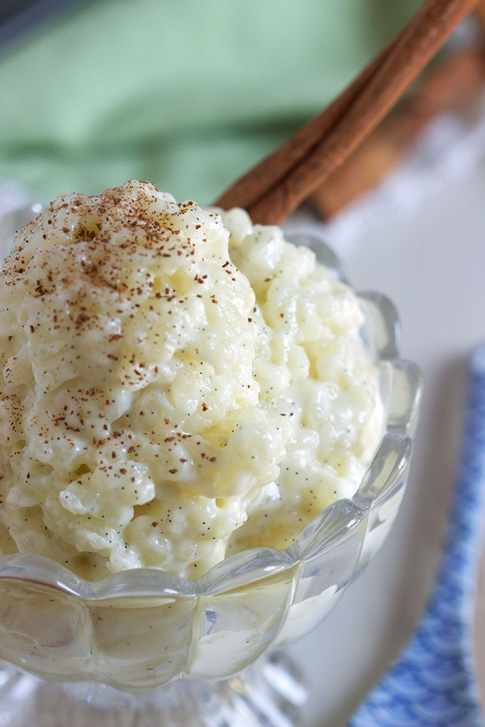 This is the BEST Rice Pudding recipe ever, creamy, sweet and comforting from TheSuburbanSoapbox.com.