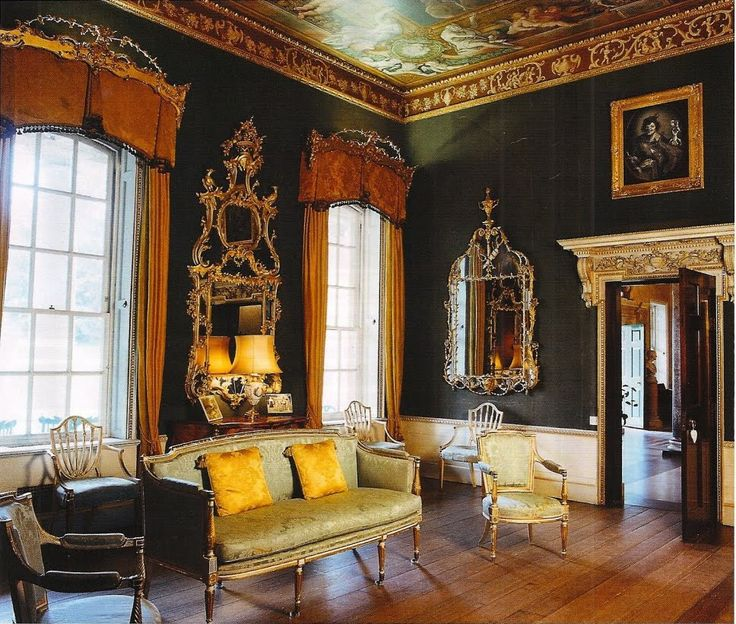 Palladian Interior In England