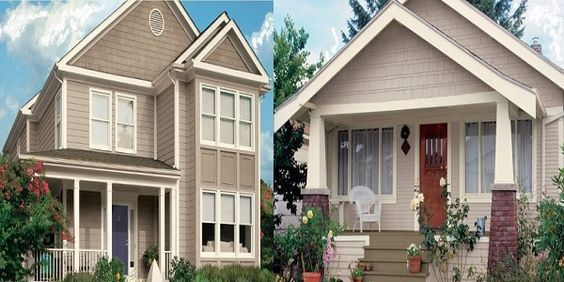 exterior home color trends 2019 and the most popular exterior home paint colors with exterior. Black Bedroom Furniture Sets. Home Design Ideas