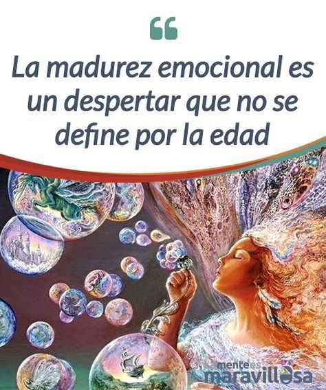 La madurez emocional es un despertar que no se define por la edad La #madurez emocional no es un entidad normativa que se alcance a determinada edad, es la #habilidad de posponer #placeres inmediatos por valores a largo plazo #Psicología