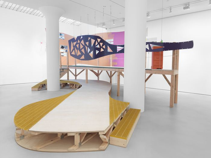 Jessica Stockholder at Mitchell-Innes & Nash (Contemporary Art Daily)