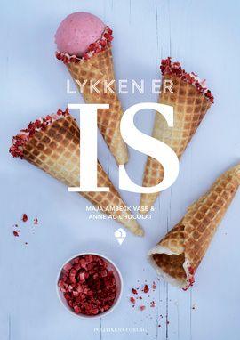 Det er sjovt og hyggeligt at lave sin egen is med wauw-effekt, og så smager hjemmelavet is fantastisk. Lykken er is er den perfekte bibel for alle iselskere, skrevet af de to superpopulære bloggere Anne au Chocolat og Maja Ambeck Vase.