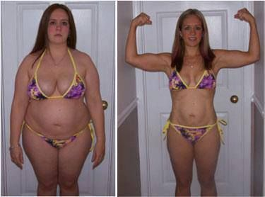 Before and after my weight loss