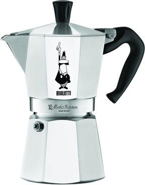 Bialetti Moka Express Espressokanne, silber #Kaffee #Kanne #Küche #Haushalt #Galaxus