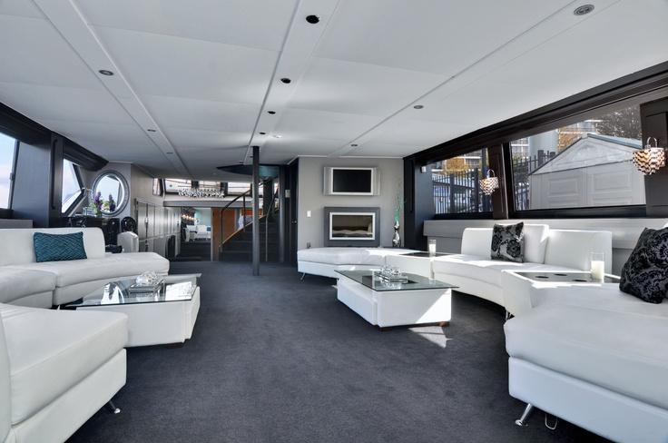 1st floor designer lounge | The Wedding Yacht
