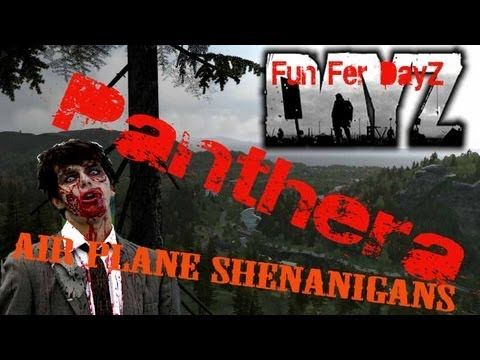 Panthera - Episode 15 - Fun Fer DayZ - Search Party in a Plane