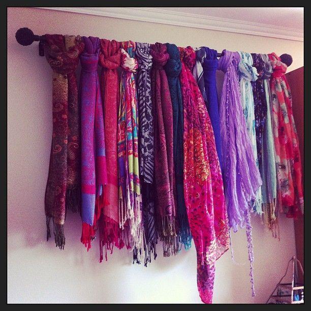 La mejor idea para guardar pañuelos de @caminavarro la ame!!!