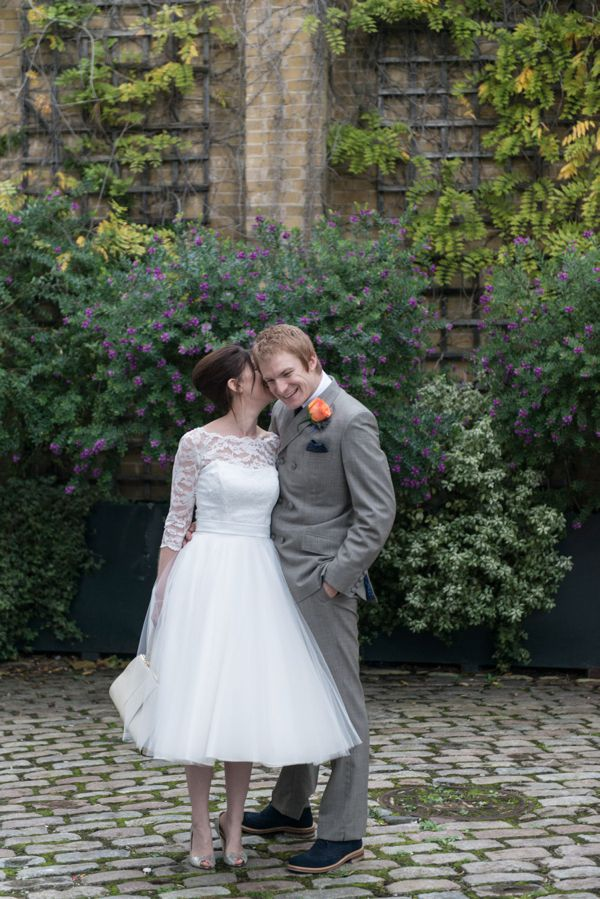 A Candy Anthony Gown For A 1960s Mod Inspired Wedding - Love My Dress UK Wedding Blog