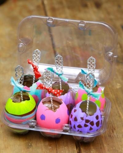 Brigadeiro na casca de ovo: personalize o presente de Páscoa com criatividade - Casa e Decoração - UOL Mulher