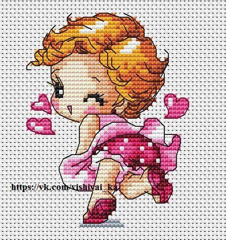 ВышивайКа - детские схемы вышивки крестом | ВКонтакте