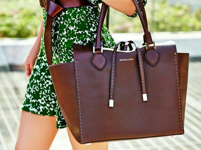 Stitch#MK#Brown#Bag