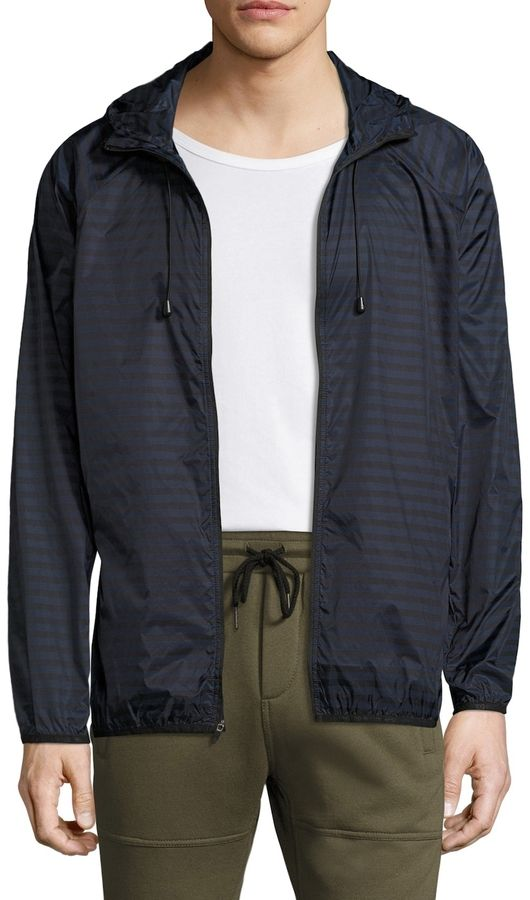 Brandblack Men's Windbreaker Nylon Jacket
