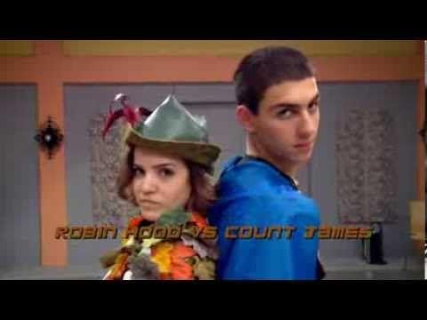 ▶ The Next Step Halloween Dance Battle - Robin Hood vs. Count James