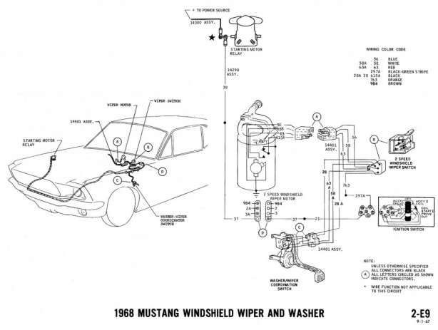 67 mustang wiring diagram charge light  wiring diagrams for