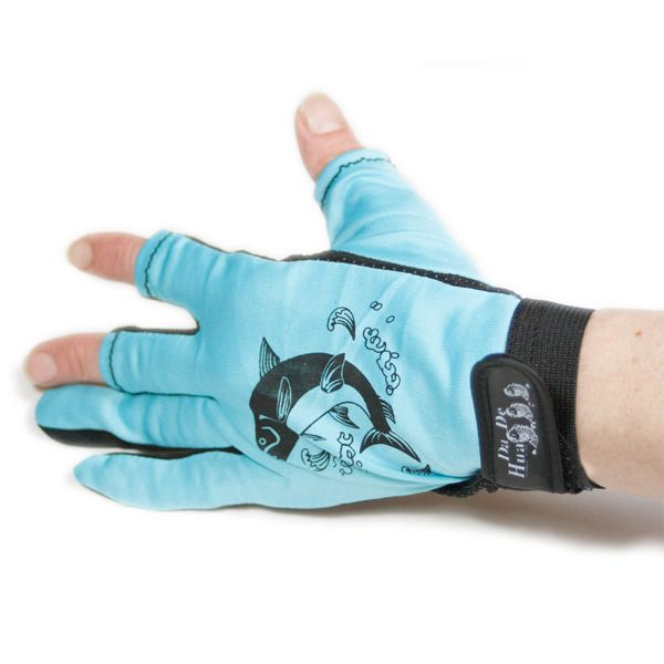 Fishing Gloves - Non slip - 3 half finger | Nautination gifts for sailors…