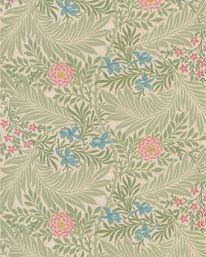 Larkspur Olive/Lilac från William Morris & Co