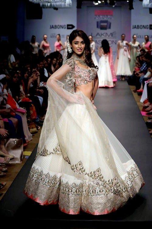 Anushree Reddy Bridal Saree and Lehenga Collection 2016 #diwali #designer #dress #lehenga #saree #designs