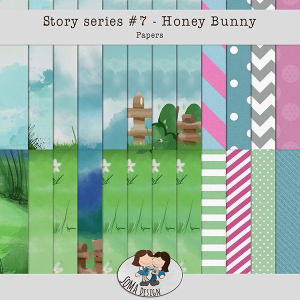 Oscraps.com :: Shop by Category :: All New :: SoMa Design: Honey Bunny Kit
