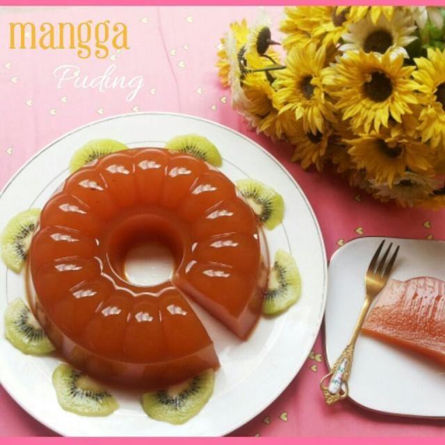 レシピとお料理がひらめくSnapDish - 2件のもぐもぐ - Puding mangga #mangga#puding#Masakan Indonesia by anggun elvia