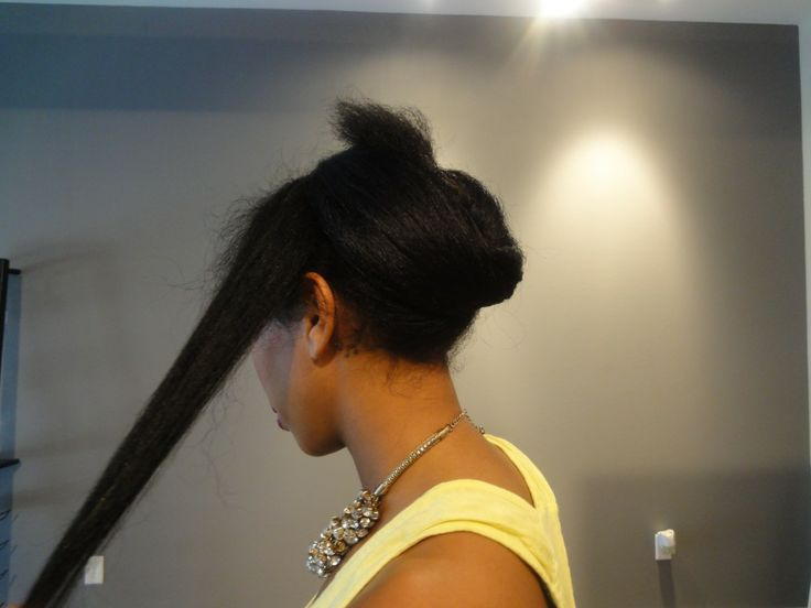 5 Workout Styles that Keep Pressed Natural Hair in Tact | Black Girl with Long Hair