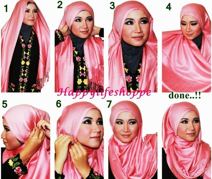 Tutorial+Hijab+Pashmina+Sifon+Wajah+Bulat+1