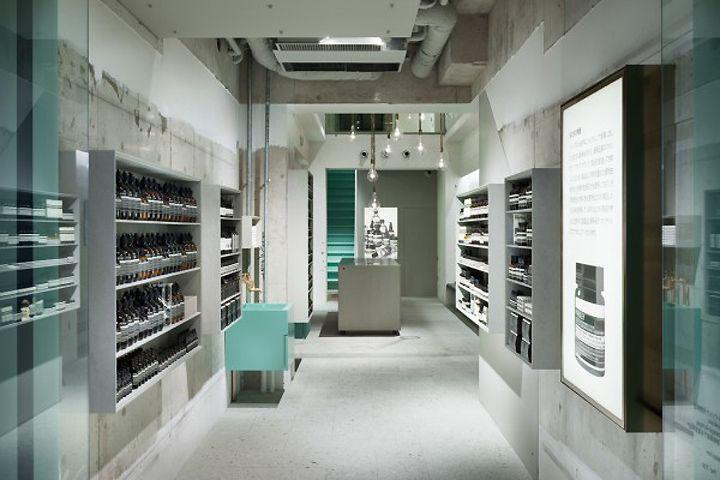 Aesop store by Torafu Architects, Kyoto – Japan