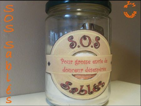 SOS Sablés biscuit de reims