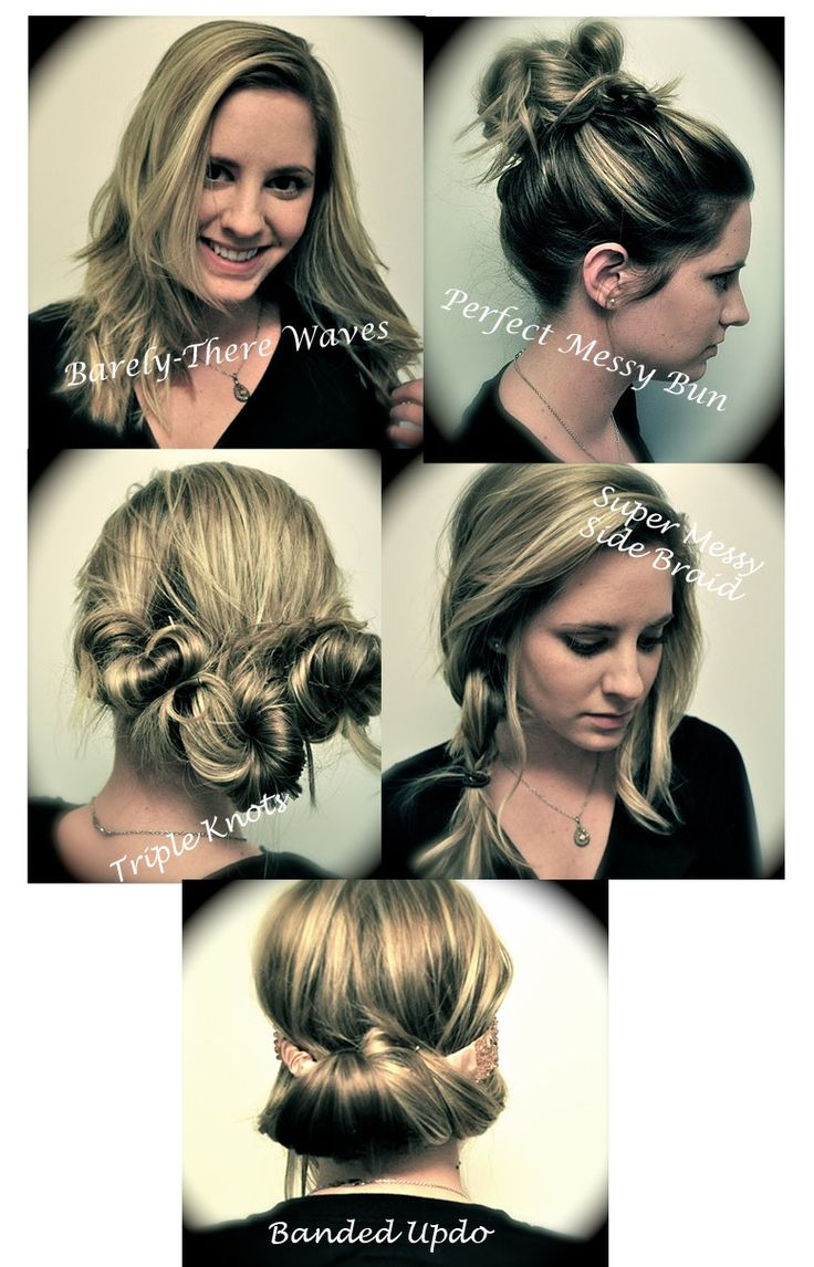 Groovy Easy Hairstyles Medium Long And Straight Hair On Pinterest Short Hairstyles Gunalazisus