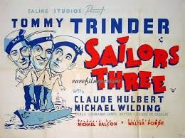 Sailors Three (1940) Tommy Trinder, Michael Wilding. 30/09/03