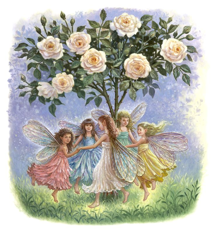 Faerie Enchantment: Now I've made a sacred space,/ Faeries are welcome in this…
