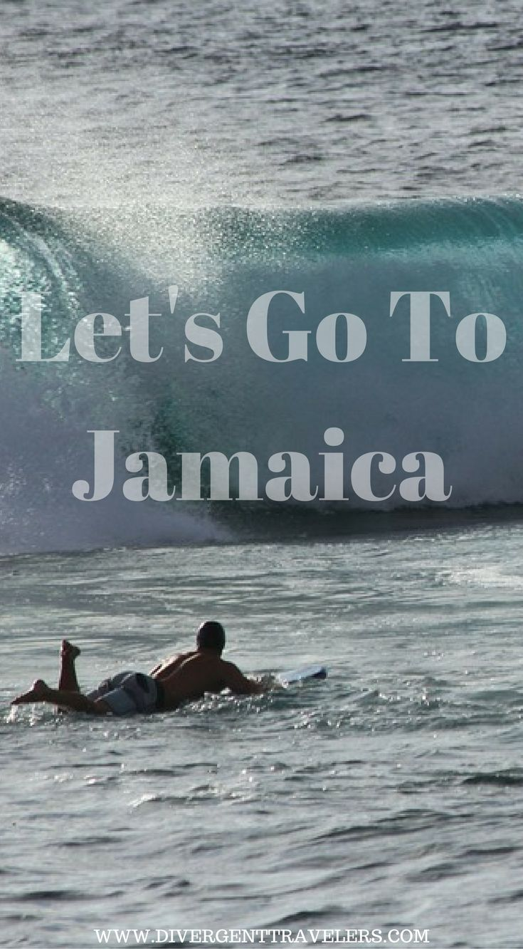 Let's go to Jamaica and hit some waves! With the sounds of large waves crashing on the shoreline like rolling  thunder in the wind I grabbed my surfboard and started to paddle out. Click to read the full travel blog post about Adventure travel in Jamaica.