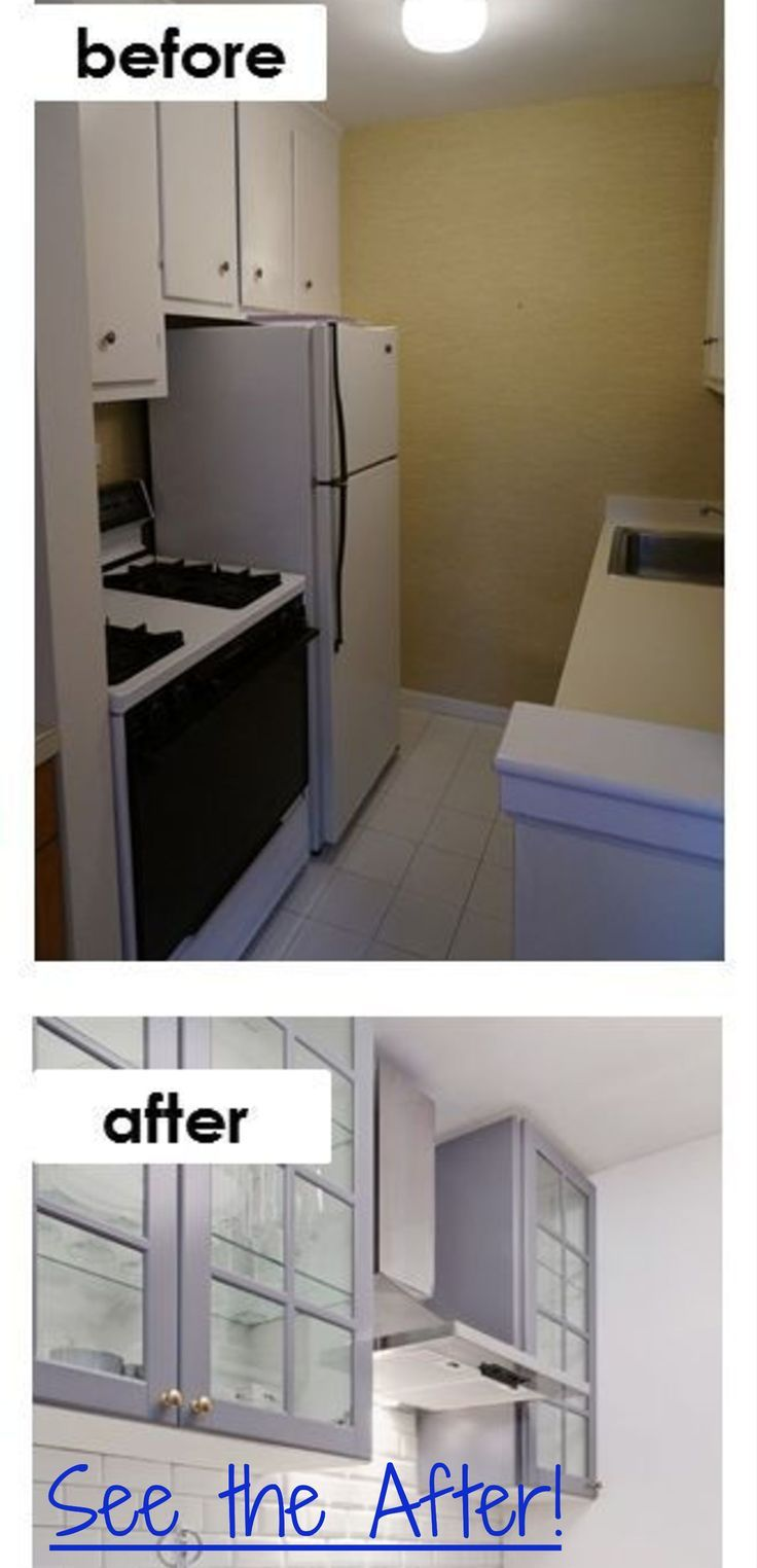 Small Kitchen Ideas On A Budget Before After Remodel Pictures Of Tiny Kitchens Clever Diy Ideas Kitchen Remodel Countertops Small Apartment Kitchen Remodel Kitchen Remodel Small