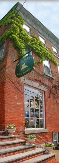 No Passport necessary: The Pig Hill Inn in Cold Spring NY. One of the best B's in NY State.