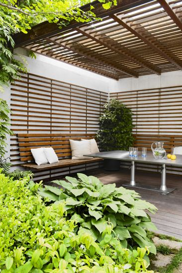 Zen outdoor room - keeping the theme going