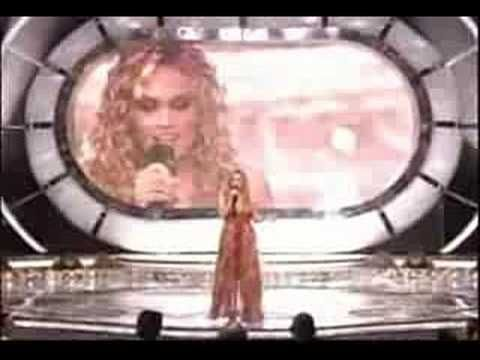 Winning Moment - Season 4, 2005 American Idol is Carrie Underwood!  8/19/14