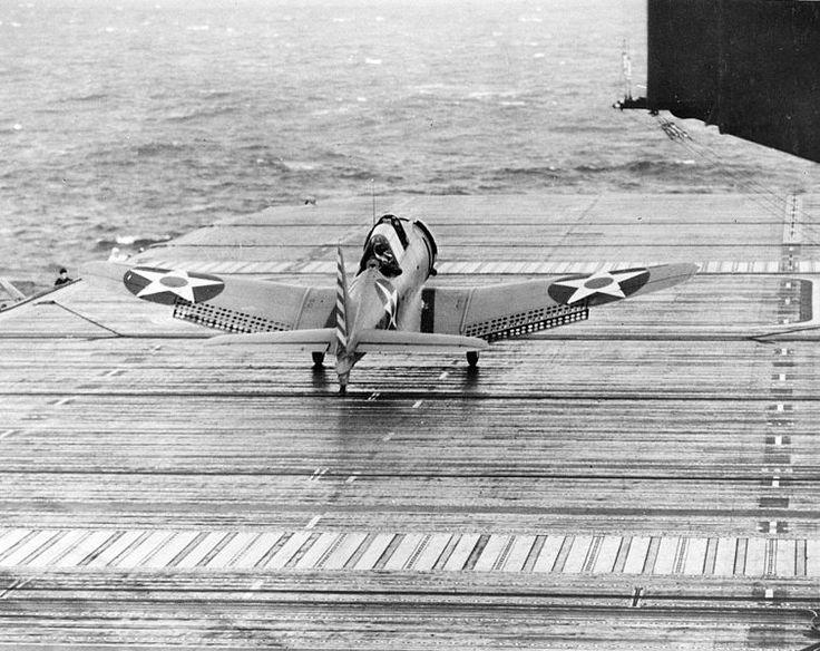File:SBD launch CV-6 Marcus Island 1942.jpg
