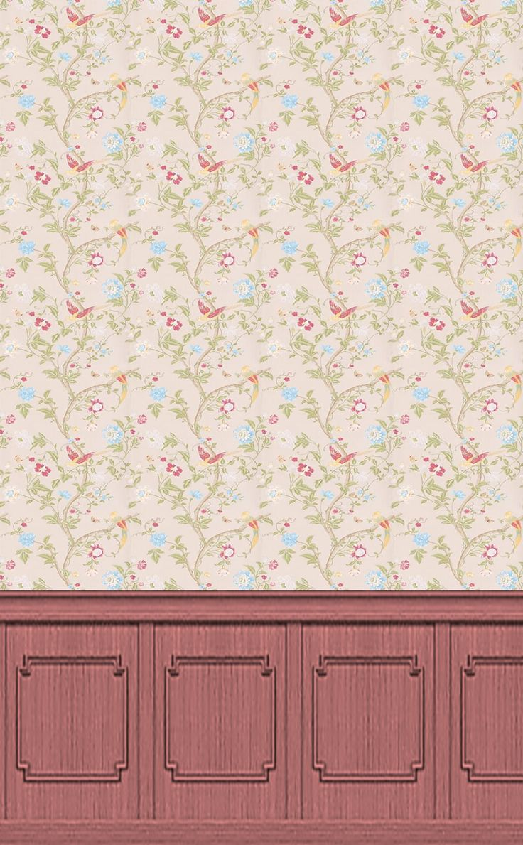 Some of our dolls house wallpaper collections 1 12 and1 24 for Wallpaper borders for your home